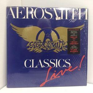 Aerosmith Classics Live Vinyl LP 1986 Pressing